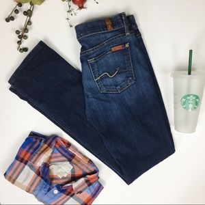Host Pick💗 7 For All Mankind Straight Leg Jeans
